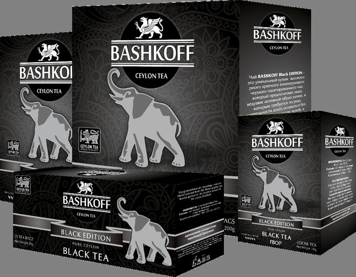 BASHKOFF TEA Black Edition
