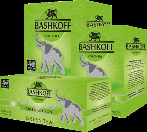 BASHKOFF TEA Green Edition